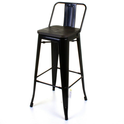 Milan Bar Stool - Black