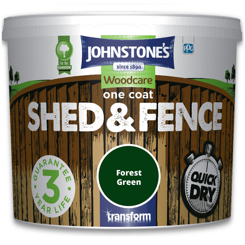 5L Shed & Fence Paint - Forest Green