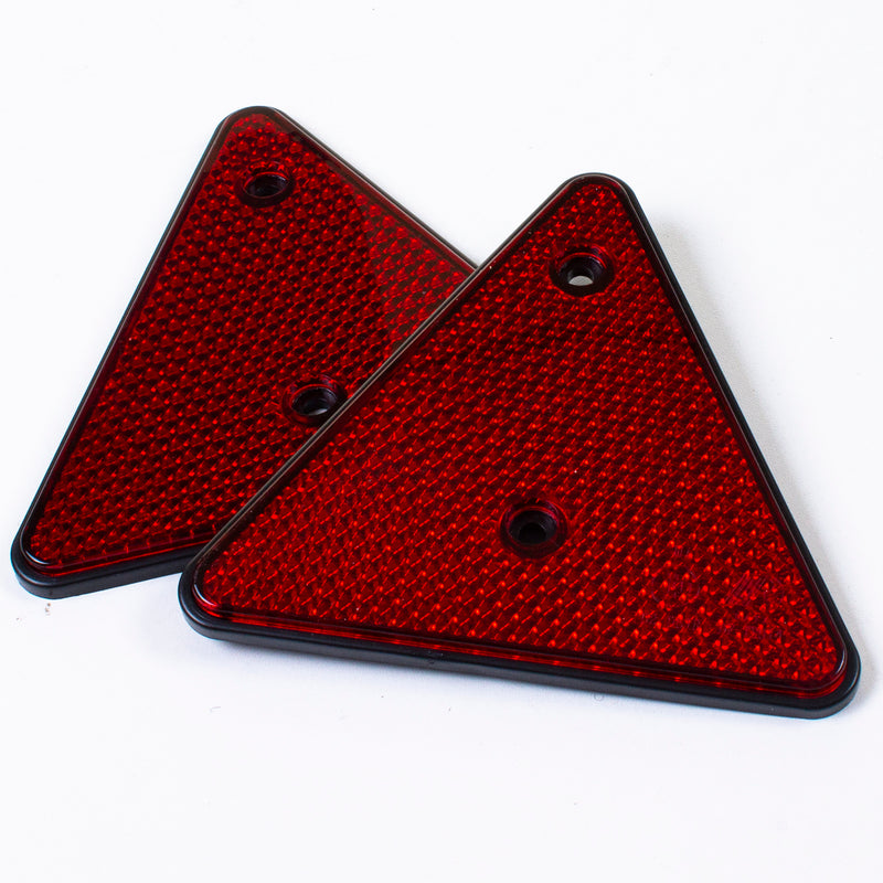 2PK Red Triangle Reflectors