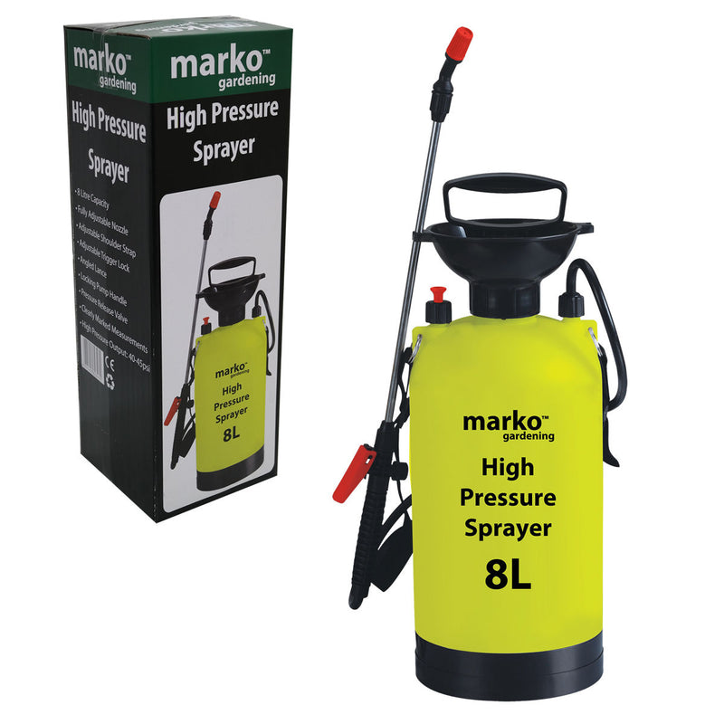 8L High Pressure Sprayer