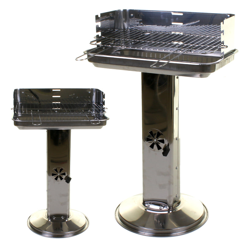 Kennedy Stainless Steel Pillar BBQ