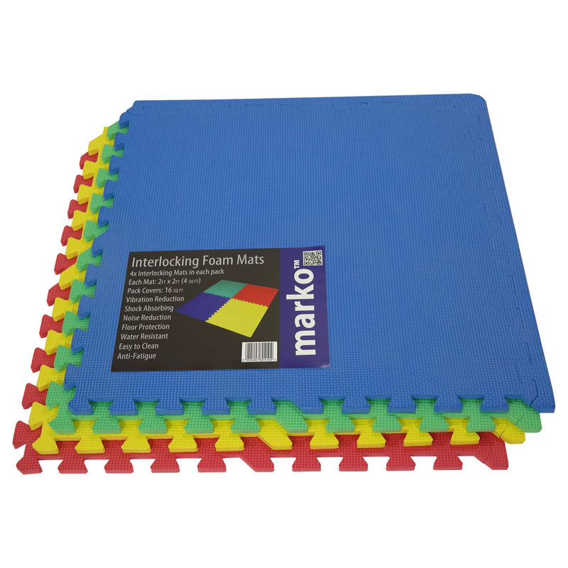 1PK Coloured Interlocking Mats
