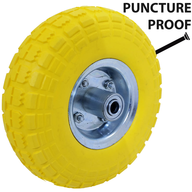 Yellow Puncture Proof Tyre