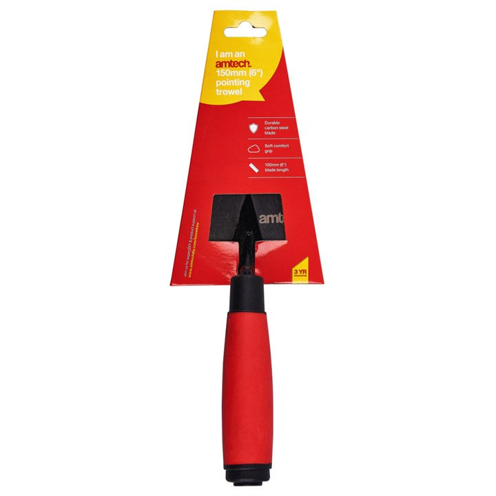 "6"" Pointing Trowel - Soft Grip"