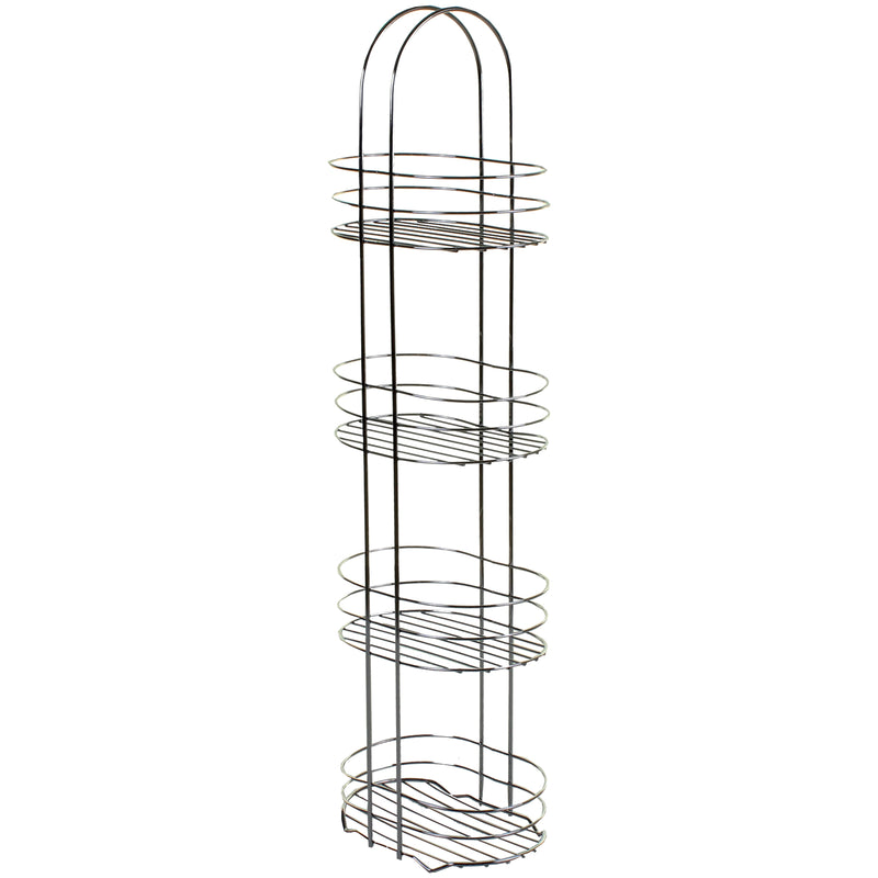 4 Tier Chrome Storage Rack