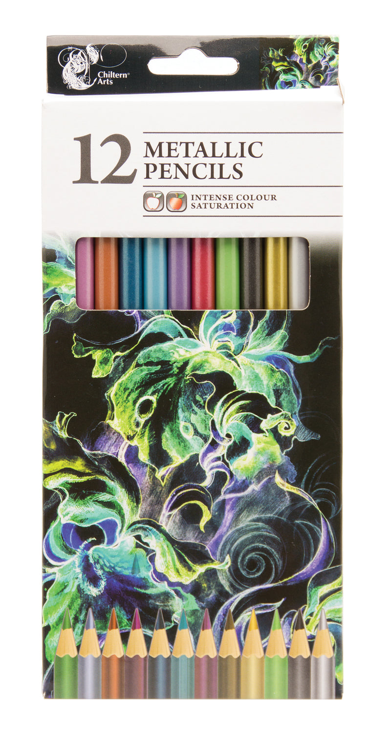 Metallic Pencils 12pk