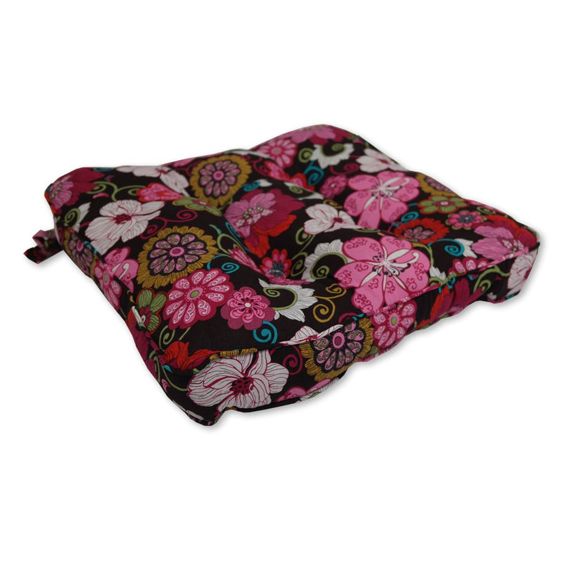 Cushion - Flowery Pink