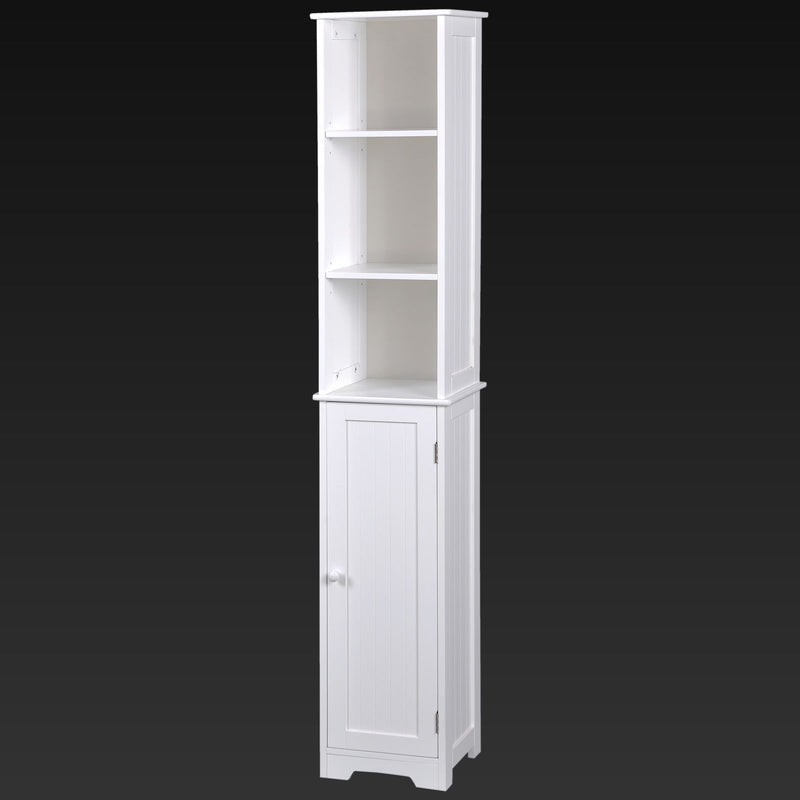 Tall Wooden Cabinet Unit