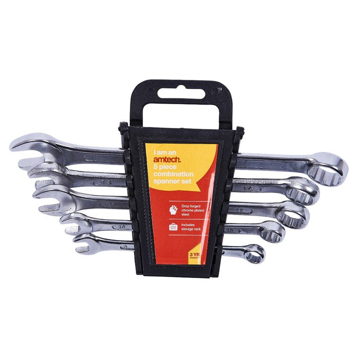 5pc Combination Spanner Set