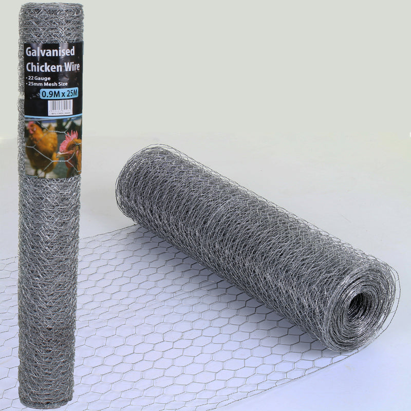 Galvanised Chicken Wire