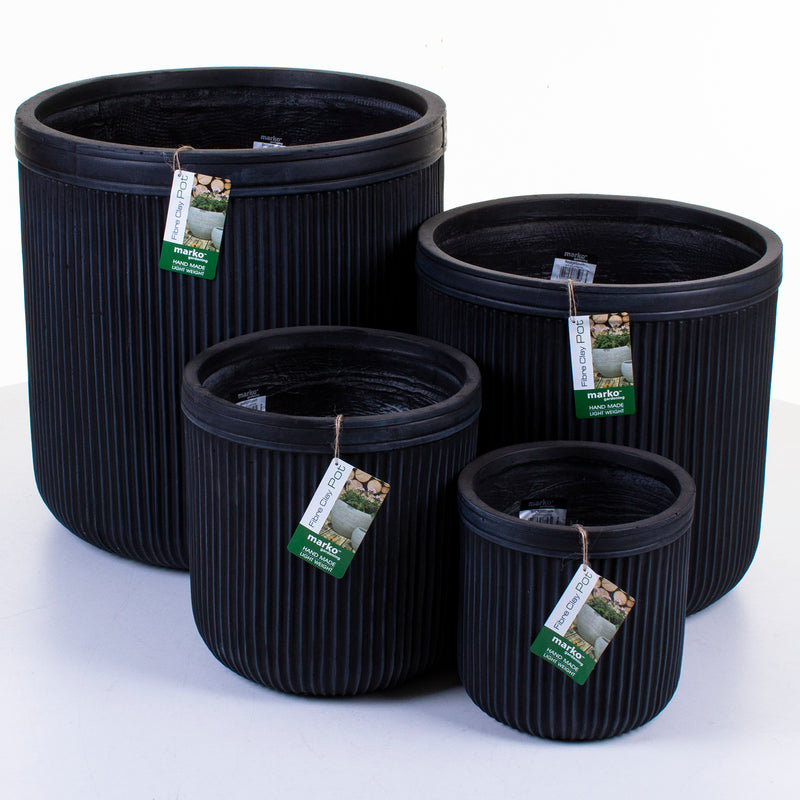 Fibre Clay Pots - Bridgetown - Set of 4