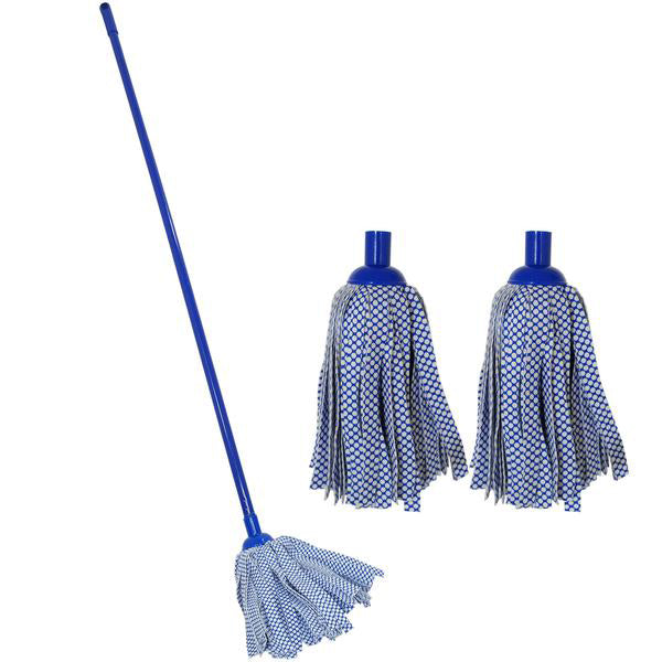 Cloth Mop with Spare Head
