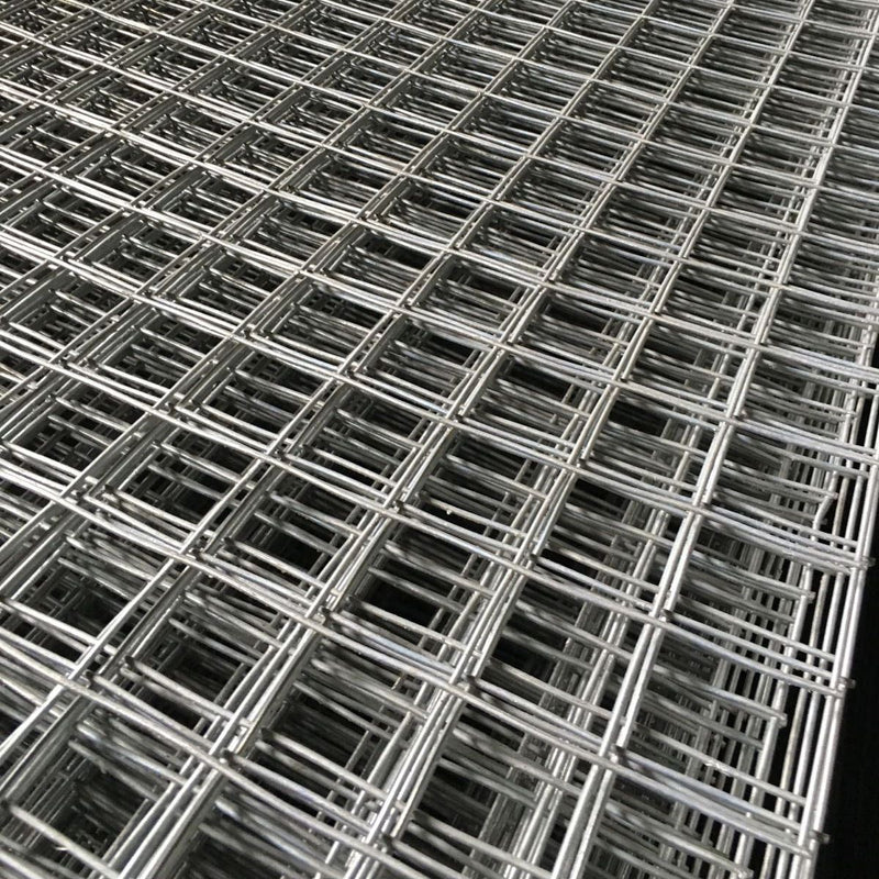 Galvanised Rec Mesh Panel - 1.8M x 0.6M