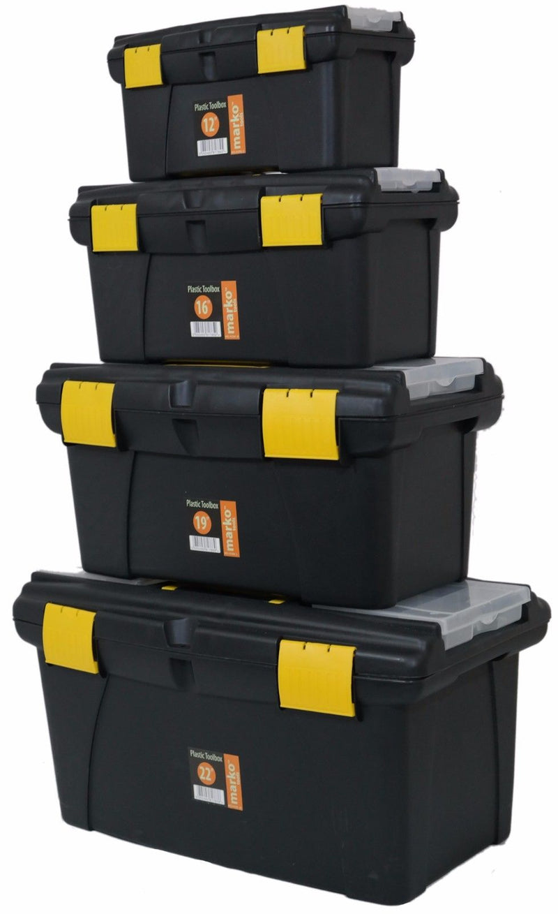 Plastic Tool Box Set