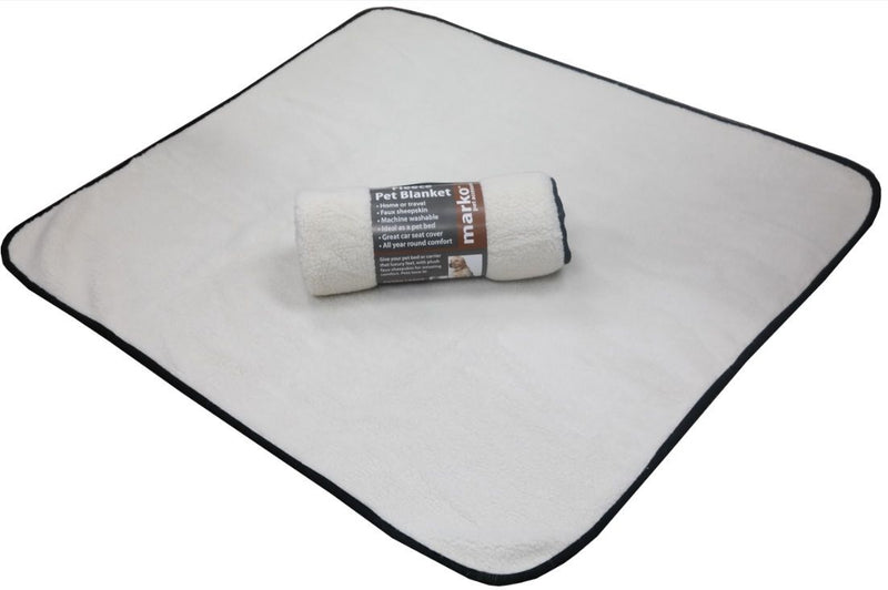 Fleece Pet Blanket 100cm x 100cm