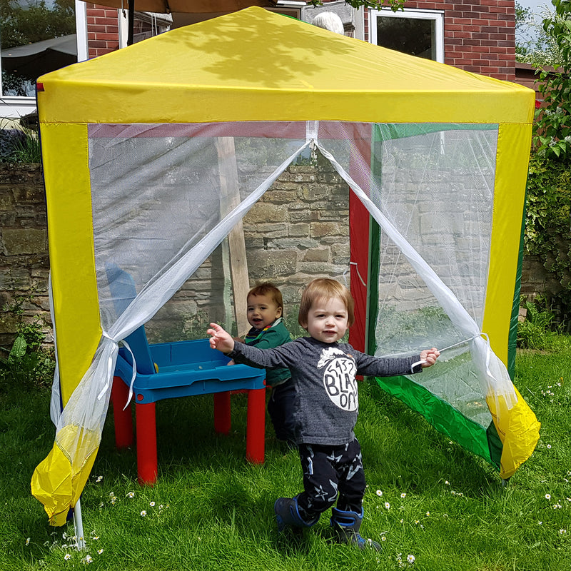 Kids Gazebo with Sidewalls