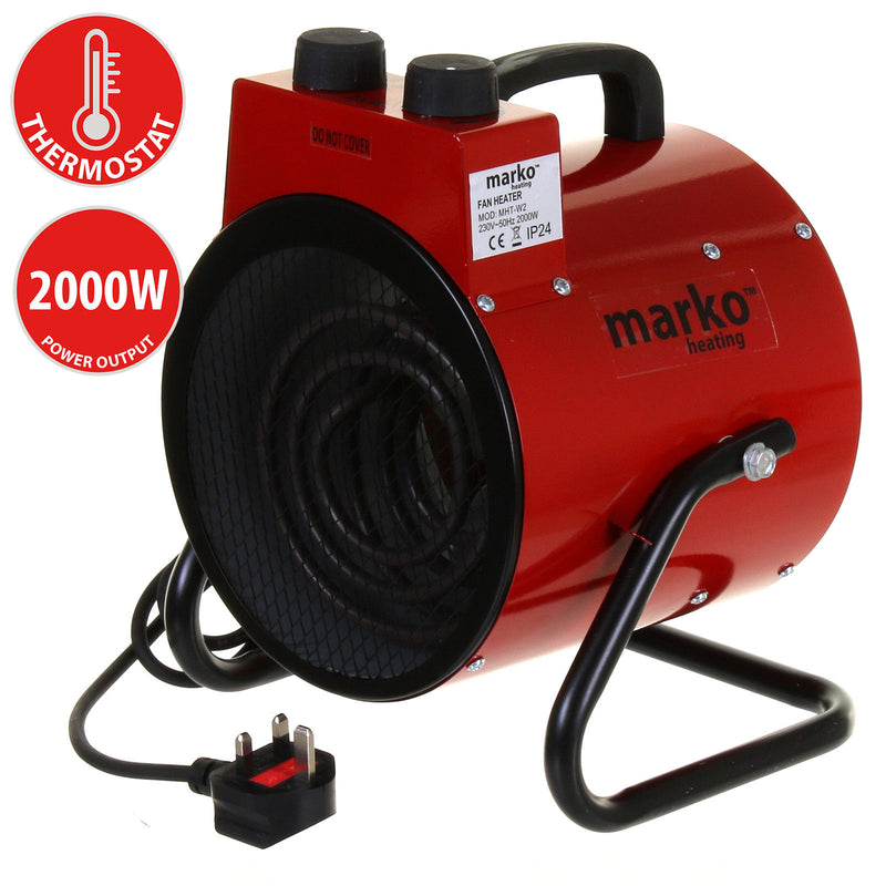 2KW Workshop Heater