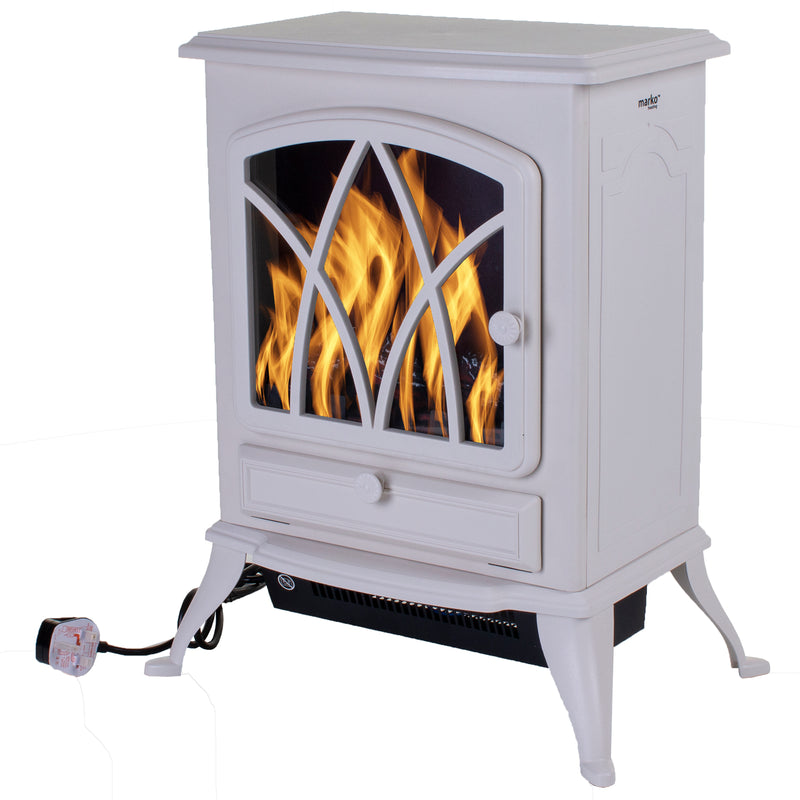 Kensington Fireplace - Cream