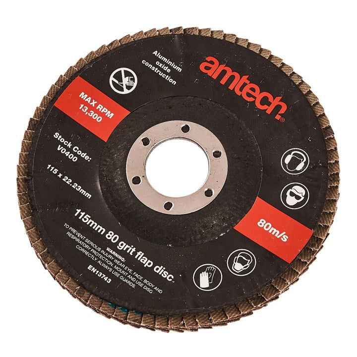 115mm Flap Disc (80 Grit)
