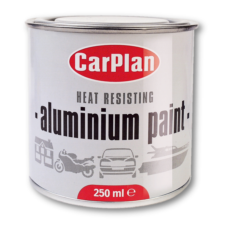 CarPlan Aluminium Paint 250ml