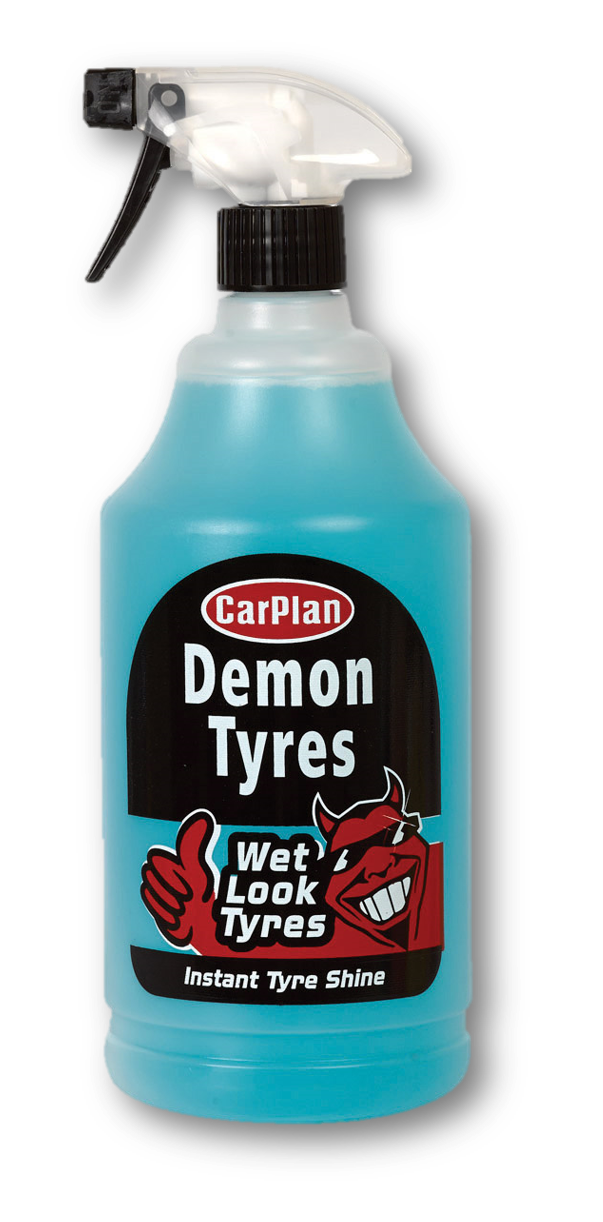 CarPlan Demon Wet Look Tyres 1L