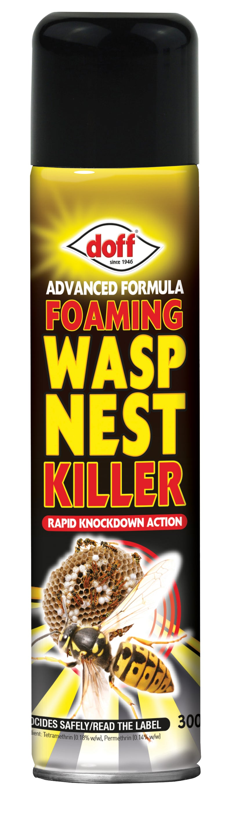 Advanced Formula Foaming Wasp Nest Killer 300ml