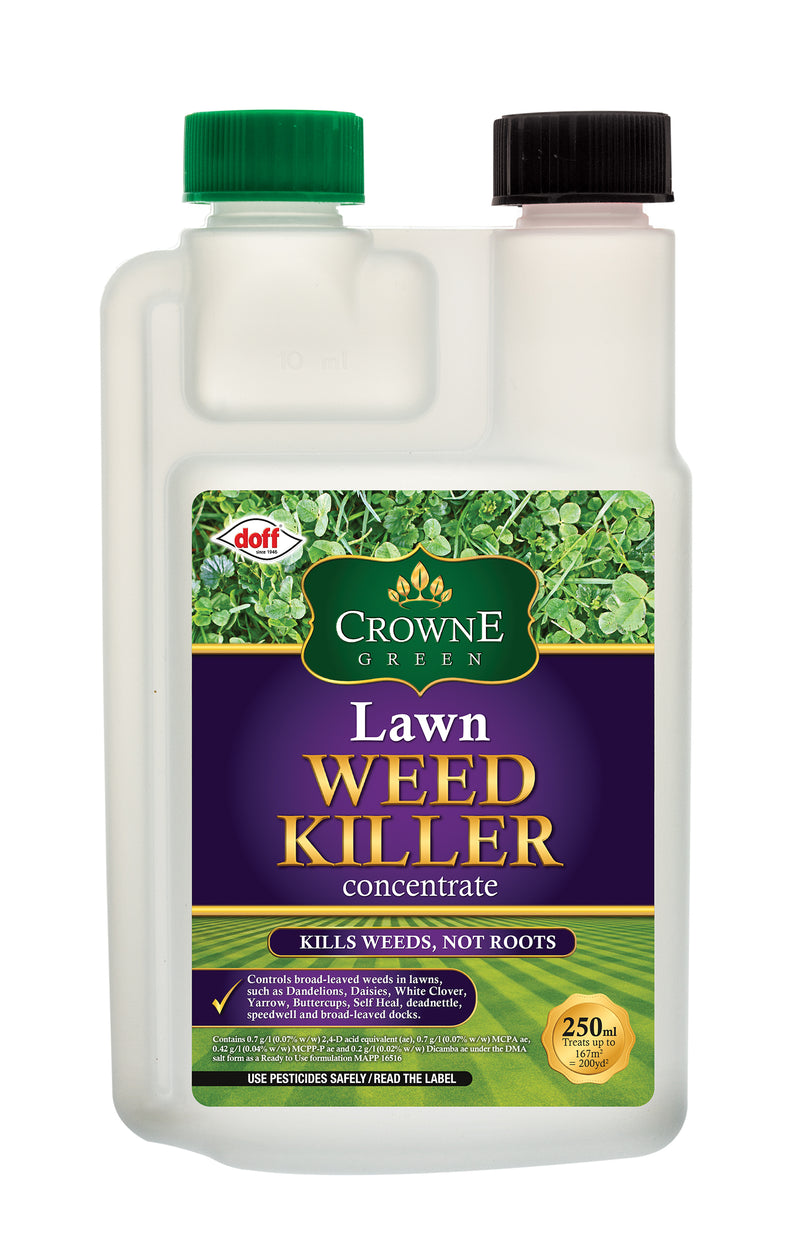 Crowne Green Lawn Weedkiller 250ml