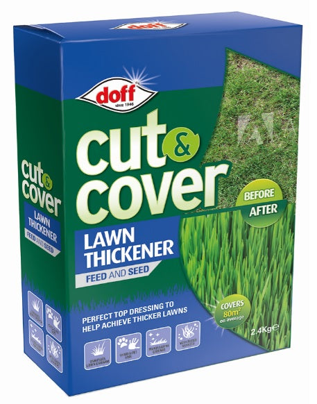 Cut & Cover Lawn Thickener Covers 68 Square Meters 2.4KG