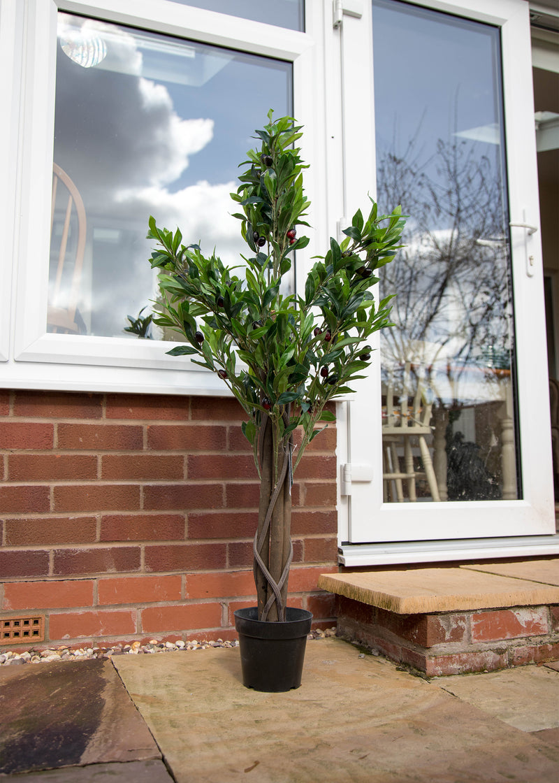 120cm Artificial Olive Tree