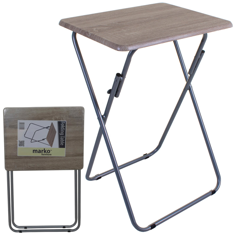 Folding Table - Wood Effect