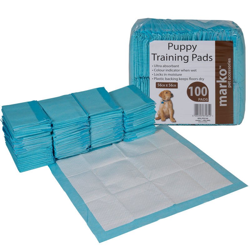 Puppy Training Pads - 56cm x 56cm - 100PK