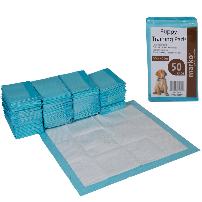 Puppy Training Pads - 56cm x 56cm - 50PK