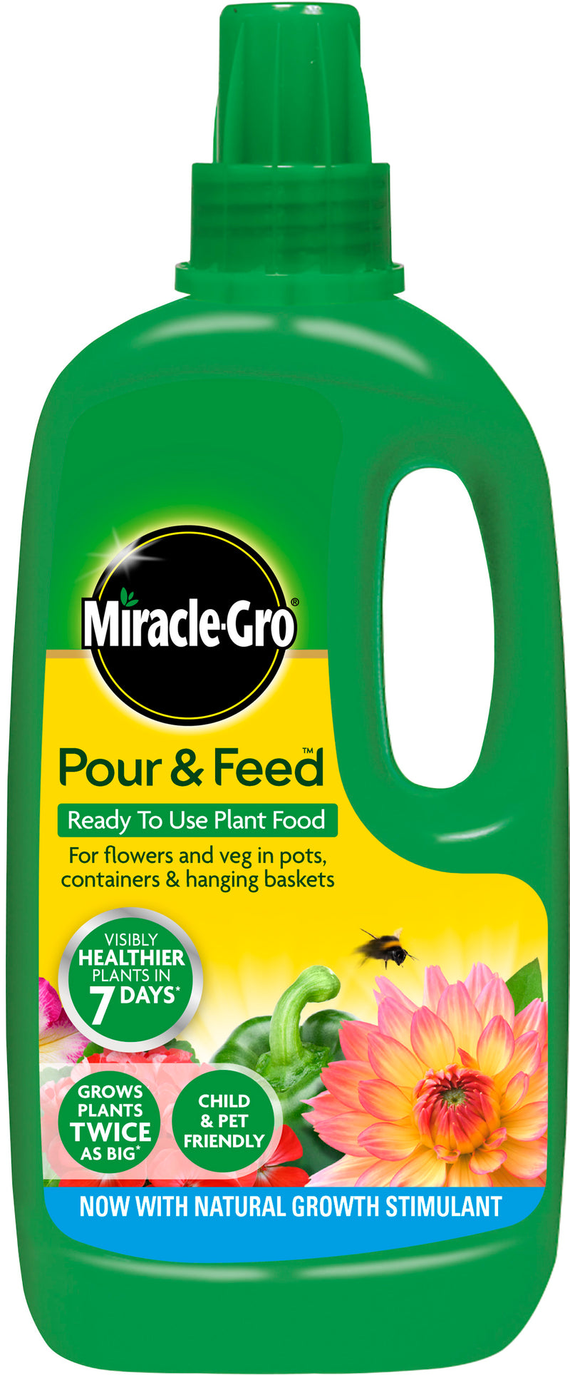 Miracle-Gro Pour and Feed Ready To Use 1L