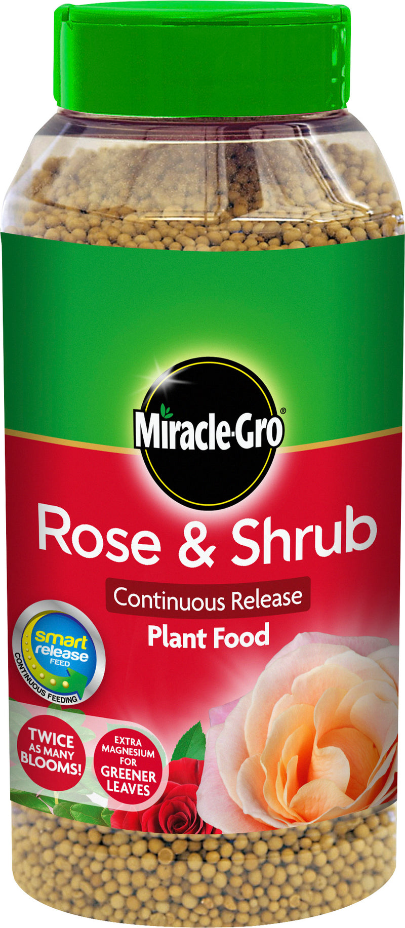 Miracle-Gro Rose and Shrub 1KG Shaker Jar