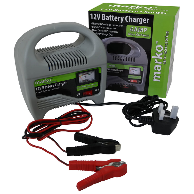 6AMP 12V Battery Charger