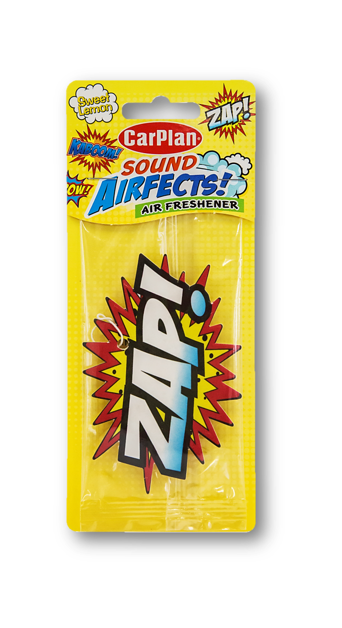 Air Freshener Sweet Lemon Sound Airfects ZAP!