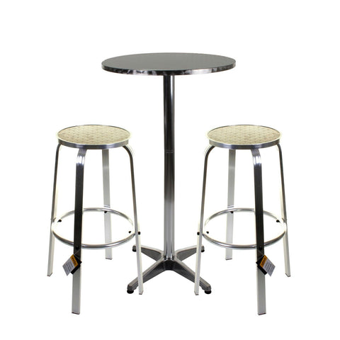 Chrome Bistro - Soliera 3PC Set