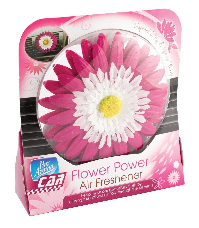 Car Air Freshener Flower Power