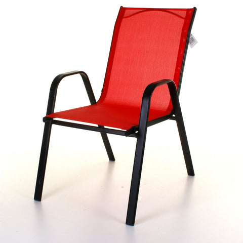 Textoline Chair - Red