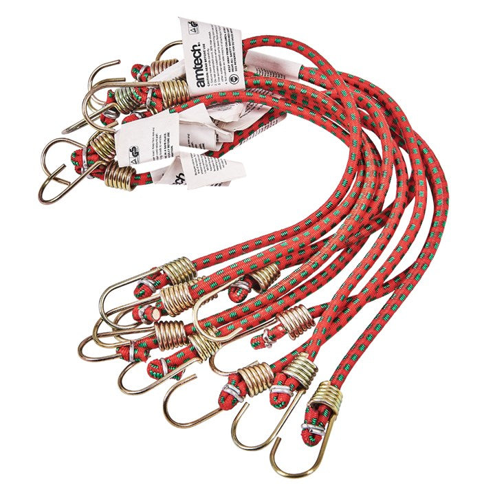 "10pc 10"" Mini Bungee Cords"