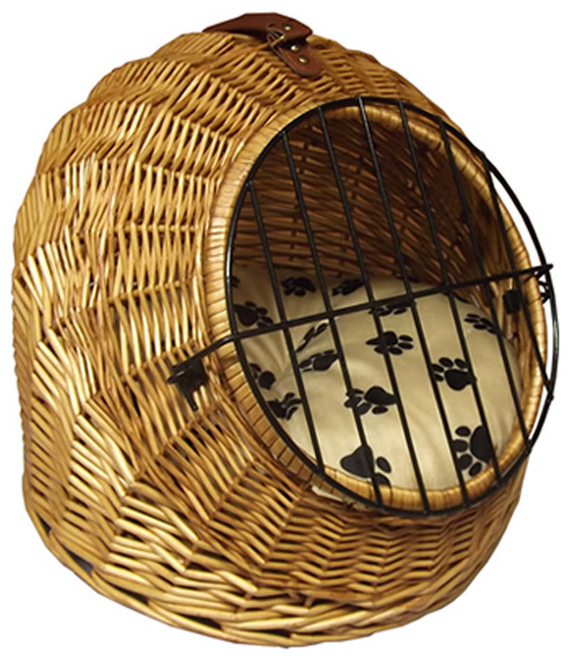 Wicker Pet Pod