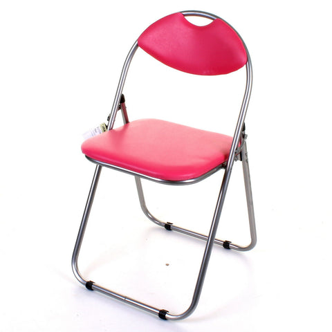 Pink Folding Chair