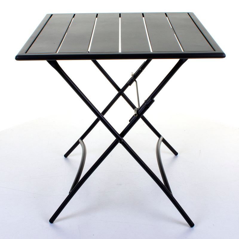 Slatted Bistro Folding Table & Chair Sets