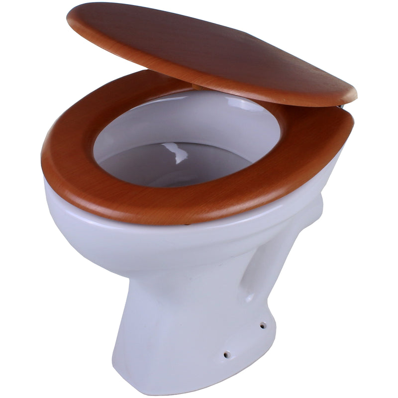 MDF Toilet Seat - Antique Pine
