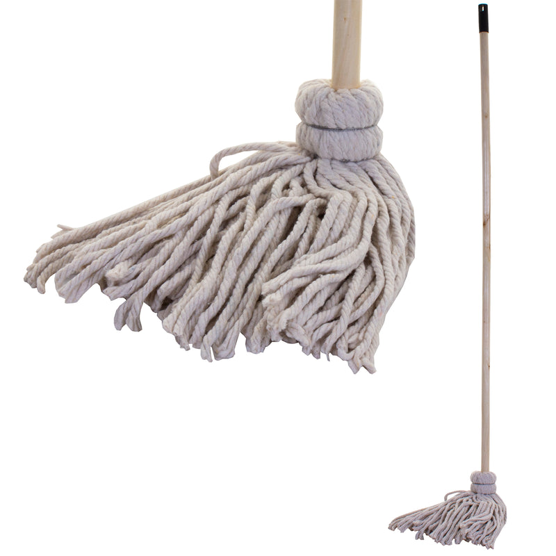 220g Cotton Mop with Wooden Handle