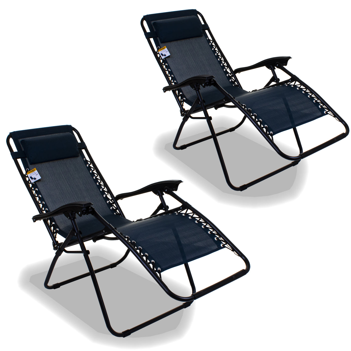 Amazing Reclining Sun Lounger Blue Caraccident5 Cool Chair Designs And Ideas Caraccident5Info