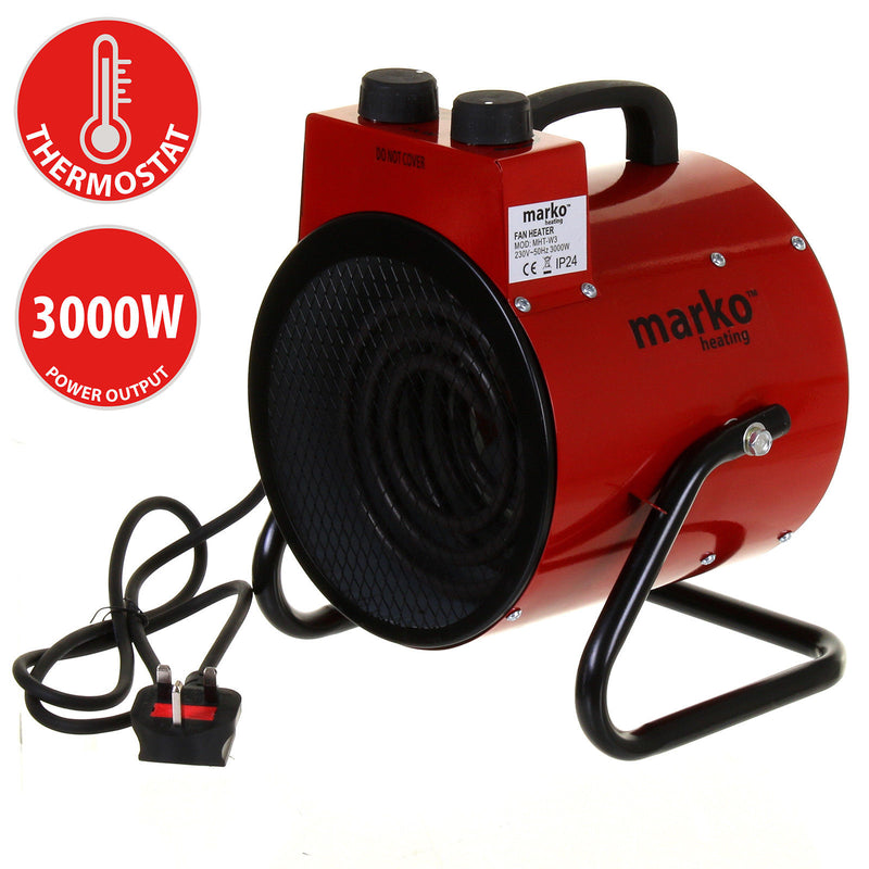 3KW Workshop Heater