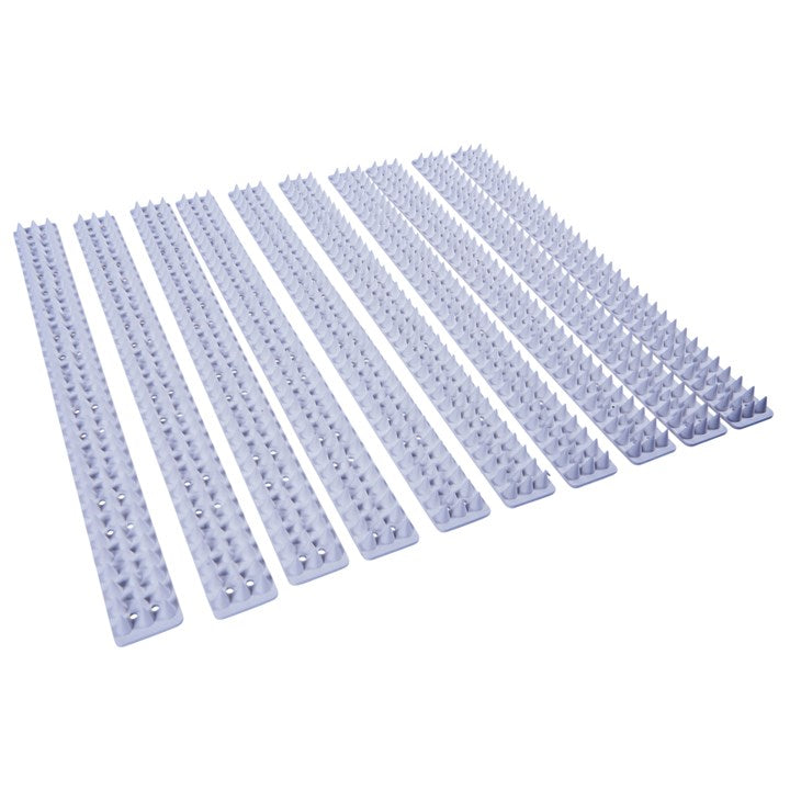 10pc Security Spikes - White