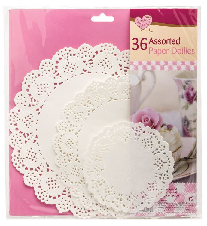 Paper Doilies Assorted 36pk