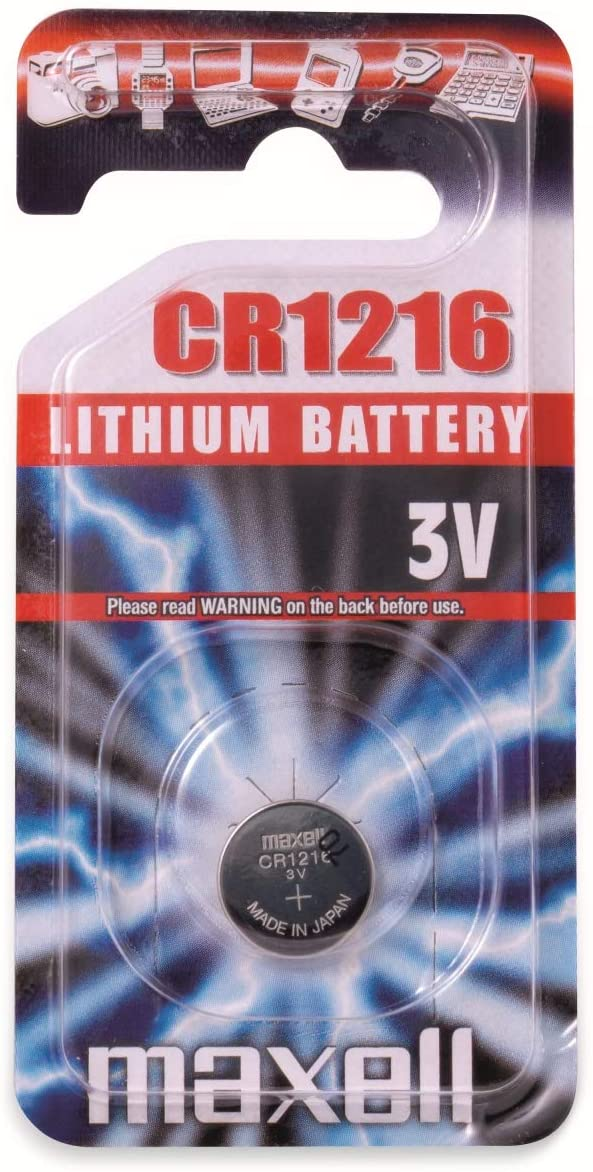 Maxell Button Cell Battery CR1216
